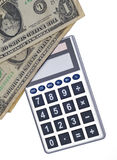 Cálculo del coste Fotografía de archivo libre de regalías