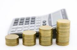 Cálculo do orçamento Foto de Stock Royalty Free