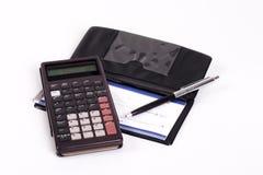 Cálculo do pagamento Imagens de Stock