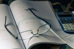 Cálculo integral Foto de Stock Royalty Free