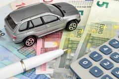 Cálculos do carro Imagem de Stock Royalty Free