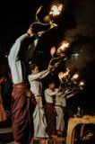 Cálices ardentes em Uttarkhand Foto de Stock Royalty Free