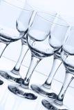 Cálices de vidro Fotos de Stock Royalty Free