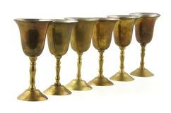 Cálices pequenos do metal Imagens de Stock Royalty Free