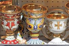 Cálices santas Imagen de archivo libre de regalías