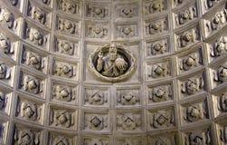 Trogir, catedral del santo Lorenzo fotografía de archivo