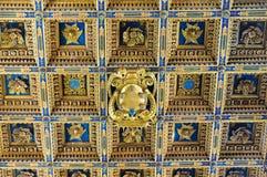 Cámara acorazada de madera - Pisa Imagenes de archivo