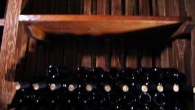 Cámara acorazada del vino Vinificación Producción de vino almacen de video