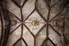 Cámara acorazada gótica de la puerta de Sigismund Fotografía de archivo libre de regalías