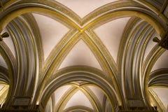 Cámara acorazada hermosa con las costillas doradas Fotografía de archivo libre de regalías