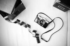 Cámara analogica Foto de archivo libre de regalías
