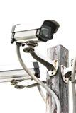 Cámara CCTV de la seguridad Imágenes de archivo libres de regalías