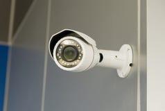 Cámara CCTV de la seguridad Fotografía de archivo libre de regalías