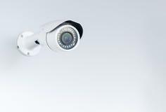 Cámara a circuito cerrado; CCTV en el fondo blanco Imagen de archivo libre de regalías