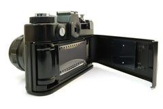 Cámara con una película Fotografía de archivo libre de regalías