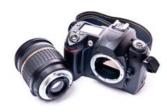 cámara de 35m m Foto de archivo libre de regalías