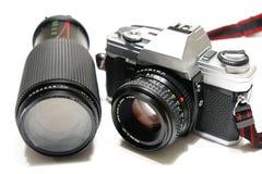 cámara de 35m m imagen de archivo