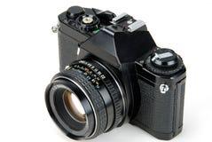 cámara de 35m m SLR foto de archivo libre de regalías
