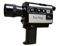 cámara de 8 milímetros Fotos de archivo libres de regalías