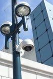 Cámara de la calle de la vigilancia Fotos de archivo libres de regalías