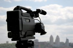 cámara de la Dv-leva Imagenes de archivo