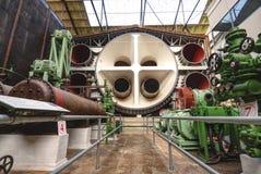 Cámara de la estratosfera, puerta Brooklands, Surrey fotos de archivo