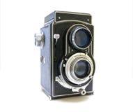 Cámara de la foto de la vendimia fotografía de archivo