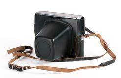 Cámara de la foto de la vendimia en caso de que Fotos de archivo libres de regalías