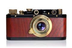 Cámara de la foto del vintage Fotografía de archivo