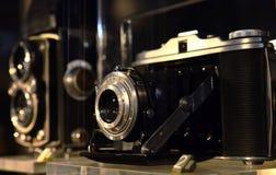 Cámara de la vendimia 35m m SLR Imágenes de archivo libres de regalías