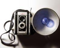 Cámara de la vendimia 35m m SLR Imagen de archivo