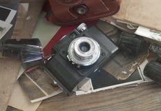 Cámara de la vendimia 35m m SLR Foto de archivo libre de regalías