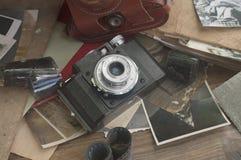 Cámara de la vendimia 35m m SLR Imagenes de archivo