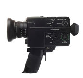 Cámara de película foto de archivo