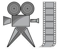 Cámara de película Fotografía de archivo libre de regalías