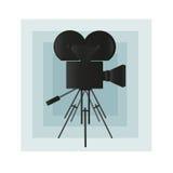 Cámara de película Foto de archivo libre de regalías