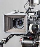 Cámara de película del cine Imagen de archivo libre de regalías