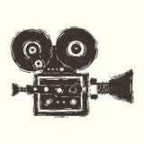 cámara de película vieja Imagenes de archivo