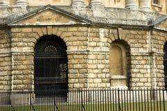 Cámara de Radcliffe, sitio de lectura de la universidad Oxford Fotografía de archivo