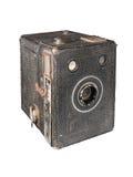 Cámara de rectángulo antigua imágenes de archivo libres de regalías