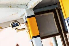Cámara de seguridad y vídeo urbano Imagenes de archivo