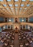 Cámara de senado de Michigan fotografía de archivo