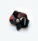 Cámara de Slr con la película Imagen de archivo