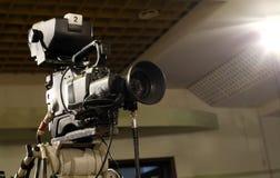 Cámara de televisión Fotos de archivo libres de regalías