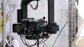 Cámara de televisión almacen de metraje de vídeo