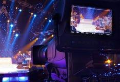 Cámara de televisión Foto de archivo