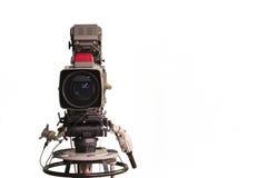 Cámara de televisión foto de archivo libre de regalías