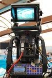 Cámara de televisión fotografía de archivo