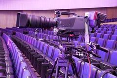 Cámara de televisión fotografía de archivo libre de regalías