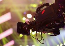 Cámara de vídeo Fotografía de archivo libre de regalías